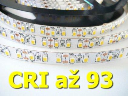 LED pásek 12V 20W CRI 93 dlouhá životnost EXTRA vysoká kvalita a svítivost bez úbytků svítivosti TopLux Osvětlení Praha skladem na prodejně
