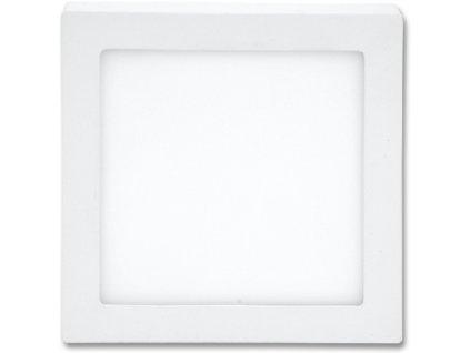 LED panel 25 W, krytí IP20 - pro vnitřní prostředí, rozměry 30 x 30 x 3 cm, svítivost 2 260 lm, 4 100 K,  barva světla neutrální bílá, čtvercové svítidlo přisazené, materiál hliník/plast, barva rámu BÍLÁ standard, včetně pružin a trafa
