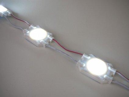 LED modul venkovní pro reklamy, 0,72W studené světlo, sériové zapojení IP65. Osvětlení Praha TopLux skladem na prodejně.