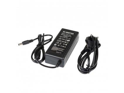 LED zdroj zásuvkový 12V 36W černý s kabelem