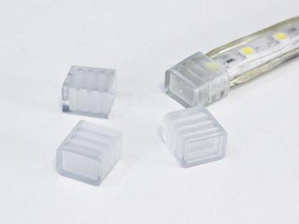 Koncovka pro LED pásku 230V jednobarevného venkovního