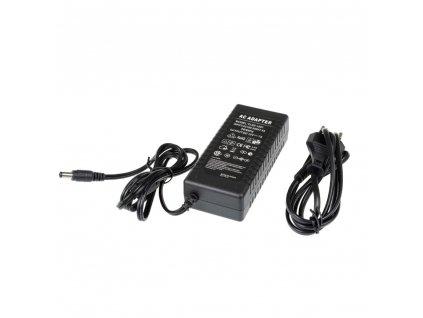 LED zdroj zásuvkový 12V 84W černý s kabelem