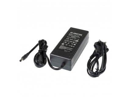 LED zdroj zásuvkový 12V 96W černý s kabelem