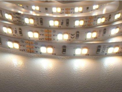 LED pásek CCT se změnou teploty barvy světla 18W 12V ovladatelný