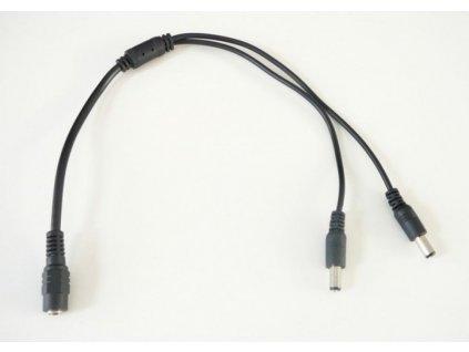 Levné a kvalitní DC rozbočovač pro LED osvětlení s 2, 4, 5 nebo 8 výstupy. Rozměr 2,1/5,5mm. Délka 40cm. Maximální zatížení 5A na vstupu, 3A na jednotlivých výstupech rozbočovače. Jack port TopLux Osvětlení Praha, Libeň