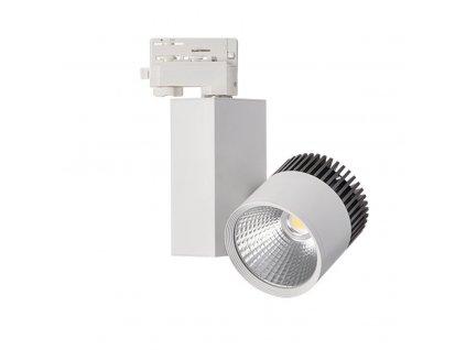 LED COB reflektor 20W bílý  Svítivost 1.590Lm, úhel svitu 24°  Barva světla 4000K neutrální denní  Náhrada za halogen 150W, IP20 vnítřní