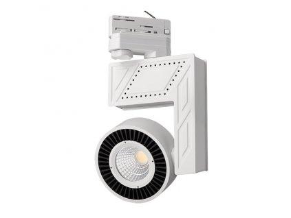 LED COB reflektor 20W bílý  Svítivost 1.565Lm, úhel svitu 38°  Barva světla 4000K neutrální denní  Náhrada za halogen 150W, IP20 vnítřní