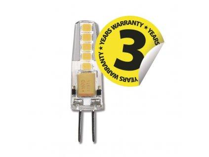 LED zárovka JC G4 2W 12V Mini slaboproudá barva světla 3000K/4100K