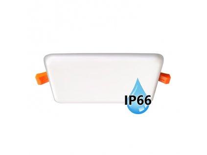 LED koupelnový panel Ecolite BRIX 11W bílý vestavný do podhledu LED-NS-11W/IP66. TopLux Praha skladem, ihned k odeslání