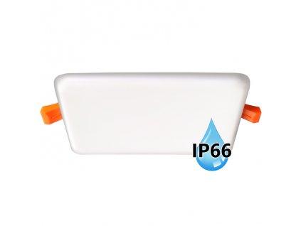 LED koupelnový panel Ecolite BRIX 22W bílý vestavný do podhledu LED-NS-22W/IP66. Na TopLux.cz skladem, ihned k odeslání