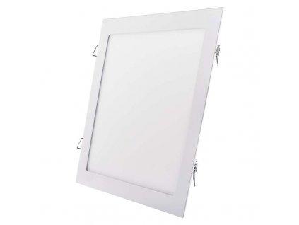 Bílý LED panel Emos VH 24W čtverec vestavný neutrální bílá ZD2152