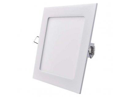 Bílý LED panel Emos VH 12W čtverec vestavný teplá bílá ZD2131
