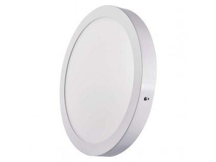 Bílý LED panel Emos PK 24W kruh přisazený teplá bílá ZM5151