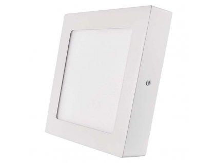 Bílý LED panel Emos PH 12W čtverec přisazený teplá bílá ZM6131