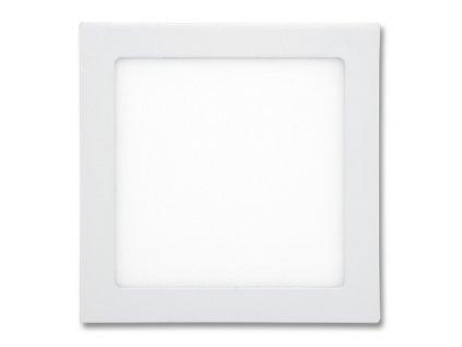 LED panel 25 W, krytí IP20 - pro vnitřní prostředí, rozměry 300 x 300 mm, montážní otvor 280 x 280 mm, svítivost 2 240 lm, 2 700 K, barva světla teplá bílá, čtvercové svítidlo vestavné, materiál hliník/plast, barva rámu BÍLÁ standard, včetně pružin a trafa
