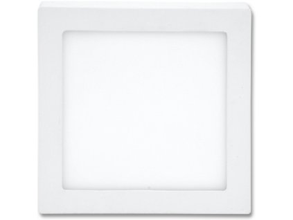 Bílý LED panel Ecolite RAFA2 25W čtverec přisazený teplá bílá LED-CSQ-25W/2700