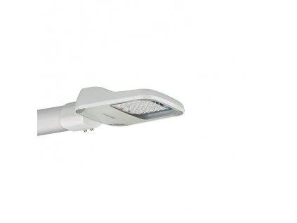 LED veřejné svítidlo - osvětlení silnic, ulic, obytných čtvrtí, krytí IP 65 - vhodné do exteriéru, max. výkon žárovky 29,6 W, rozměry 350 x 85 x 205 mm (d x v x š), barva světla neutrální bílá, 4 000 - 5 000 K, svítivost 3 700 lm, materiál tvrzené sklo/tlakově litý hliník, násuvný konektor s ochranou proti napínání