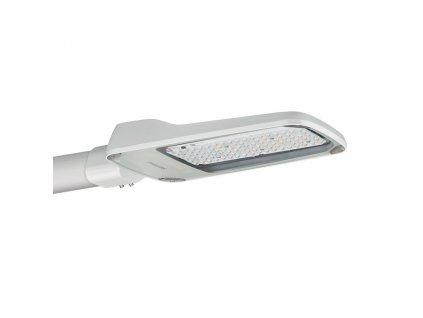 LED veřejné svítidlo - osvětlení silnic, ulic, obytných čtvrtí, krytí IP 65 - vhodné do exteriéru, max. výkon žárovky 56,5 W, rozměry 500 x 85 x 220 mm (d x v x š), barva světla neutrální bílá, 4 000 - 5 000 K, svítivost 7 500 lm, efektivní světelný tok 6 133 lm, materiál tvrzené sklo/tlakově litý hliník, násuvný konektor s ochranou proti napínání