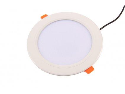 LED podhledové svítidlo 12 W, IP20 - vhodné do interiéru, integrovaný RGBW přijímač, svítivost až 1080 lm, rozměry 180 × 38 mm(p/v), střídání a prolínání barev, teplota chromatičnosti 2 700 - 6 500 K
