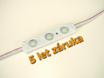 LED modul venkovní pro reklamy, 0,72W studené světlo, IP65. Osvětlení Praha TopLux skladem na prodejně.