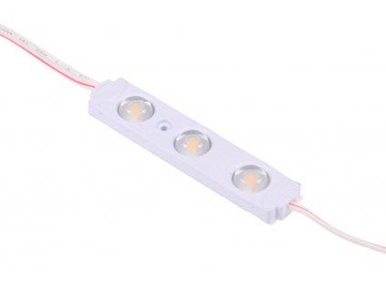 LED modul 0,72W 3čip studená bílá 07901