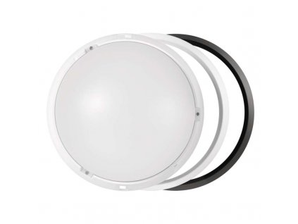 LED svítidlo 14 W, krytí IP54 - vhodné do interiéru i exteriéru, rozměry:∅ 215 x 80 mm, náhrada za žárovku 75 W, svítivost 1 000 lm, barva světla neutrální bílá, 4 000 K, kruhové svítidlo přisazené, materiál: plast (PC)