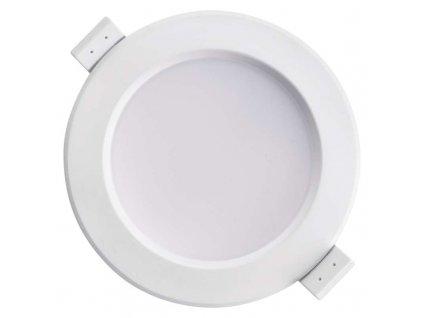 LED downlight 7,5 W, krytí IP20 - pro vnitřní prostředí, rozměry:∅ 115 x 69 mm, náhrada za žárovku 60 W, svítivost 750 lm, barva světla neutrální bílá, 4 000 K, kruhové svítidlo vestavné do podhledu, materiál plast (PC, PBT)