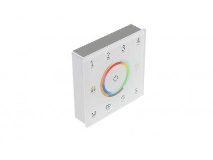 LED dálkový ovladač dimLED OV ALLMIX 4KM bílý čtyřkanálový pro jednobarevné CCT, RGB a RGBW 069214