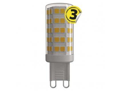 LED žárovka G9 CLASSIC 4,5W 230V 3000K/4100K  Náhradí halogenovou žárovku 40W - světelný tok 465Lm