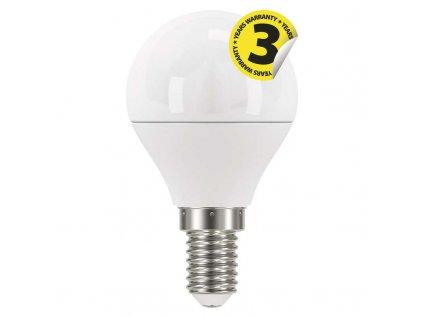 LED žárovka E14 Mini Globe 6W 2700K/4100K  Náhradí klasickou žárovku 40W - světelný tok 470Lm