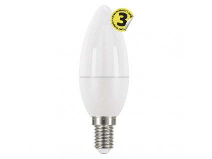 LED žárovka EMOS Classic Candle svíčka s malým závitem E14 6W teplá 2700K/neutrální denní 4100K