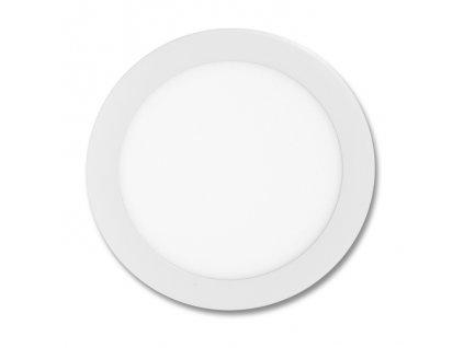 Bílý LED panel Ecolite LADA 18W kruh vestavný neutrální bílá LED-WSL-18W/4100. Na TopLux.cz skladem, ihned k odeslání