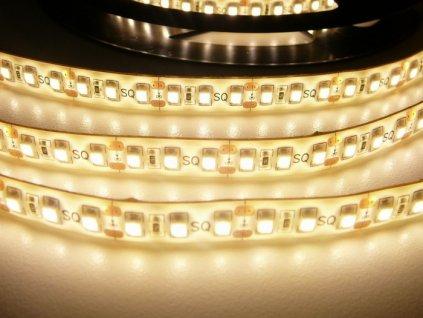 LED pásek 12V 9,6W dlouhá životnost vysoká kvalita a svítivost bez úbytků svítivosti 3000K teplá bílá TopLux Osvětlení Praha skladem na prodejně