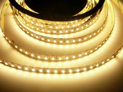LED pásek 12V 12W dlouhá životnost vysoká kvalita a svítivost bez úbytků svítivosti 3000K teplá bílá TopLux Osvětlení Praha skladem na prodejně