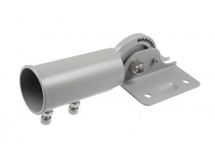 Úhlově nastavitelný držák pro LED veřejné osvětlení RS100W. Polohovatelný nástavec na sloup nebo stožár se standardním průměrem  60mm, je naklápěcí nasazovací redukce pro pouliční lampu RS100W.