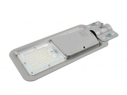 LED VO pouliční lampa TopLux RS60W 4000K LED veřejné osvětlení šedé na výložník 42mm. TopLux Praha skladem