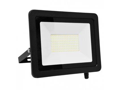 LED reflektor 100 W, krytí IP65, rozměry 28x 11 x 20 cm, svítivost 7 500 lm, barva světla studená bílá, 5 000 K, materiál hliník/sklo, čip LED SMD, vyzařovací úhel 120°