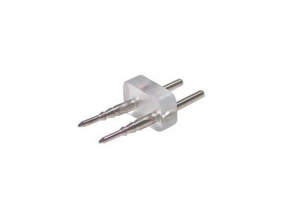 PIN vidlicová propojka pro jednobarevný LED NEON.  Slouží k propojení NEONu a flexo šňůry.