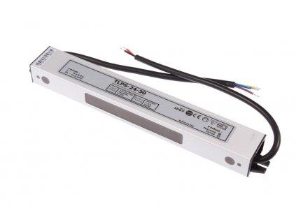 LED napájecí zdroj 24V 30W pro LED pásky - voděodolné trafo 1,3A IP67 055021