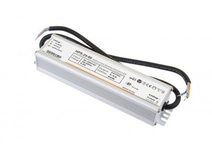 LED napájecí zdroj HPS 24V 60W pro LED pásky - voděodolné trafo 2,5A IP67 - Záruka 5let 051132