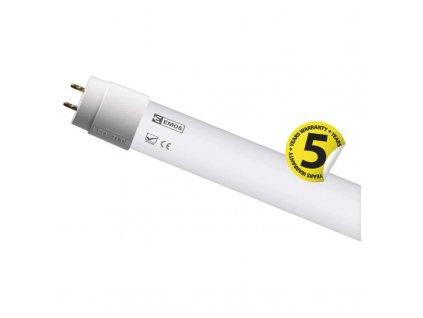 LED trubice 15W s jednostranným napájením, rozměry 1200 x 26 mm, vyšší svítivost až 2 250 lm, barva světla 4000K neutrální / 6000K studená bílá, patice G13, záruka 5 let, nová technologie