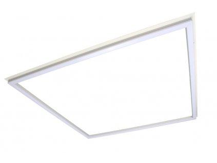 Světelný rám, LED rámeček ANGA 48W 60x60cm čtvercové úsporné svítidlo do podhledu. LED rámeček 60x60cm Příkon 48W Barvu světla si lze vybrat ze 3 variant: teplá/denní/studená Barva rámu - bílá Volitelná montáž dle příslušenství Akční cena. Záruka 5 let. TopLux Osvělení Praha, Libeň, Sokolovská