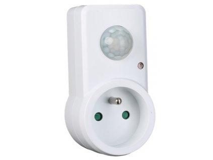 Průchozí zásuvka s pohybovým PIR senzorem 230V ST110B Do zásuvky 230V Pohybový PIR  a světelný senzor Možnost nastavení citlivosti - LUX, TIME, SENS Úhel záběru PIR 120° Pomocí této spínací zásuvky lze pohybem zapínat spotřebiče, jako např. stojanové nebo stolní lampy. Reaguje okamžitě na pohyb v detekovaném rozsahu. Čidlo rozlišuje denní a noční osvětlení. Citlivost na světlo lze nastavit, stejně tak dobu sepnutí a rozsah PIR senzoru. Lze také využít jako bezpečnostní spotřebič TopLux Osvětlení Praha, Libeň
