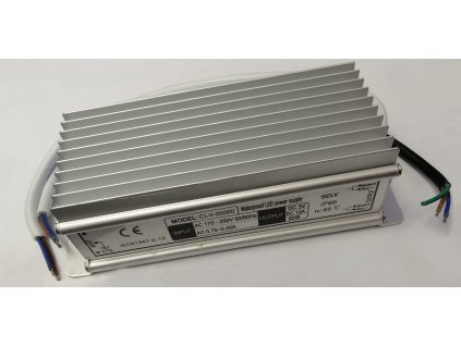 LED napájecí zdroj 5V 60W pro LED pásky - voděodolné trafo 12A IP66 05060