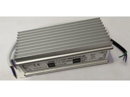 LED trafo 05060 zalité 5V 12A (60W) - napájecí zdroj venkovní IP67 vodotěsné provedení. Kvalitní kovové provedení zatěsněné proti vlhsti a prachu.  TopLux Osvětlení Praha skladem na prodejně nízké ceny