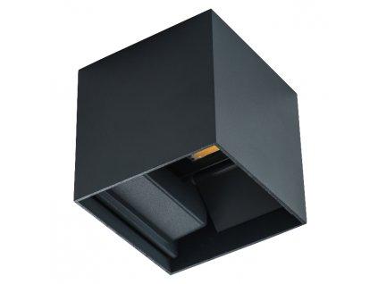 LED fasádní svítidlo REKA černé hranaté 7W 4000K IP54 oboustranné nastavitelný uhel svitu 28990. TopLux Praha