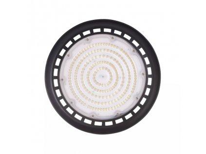 LED průmyslové svítidlo HB UFO 150W 107222 černé barvě, je náhrdrada sodíkové výbojky 400W. Akční cena 2.940 Kč. IP65 odolné proti vodě a prachu. Použití do průmyslových skladů, hal a výroben, servisů, dílen, nebo prodejních prostor s vysokým stropem. Ideální montážní výška 6-8m. Profesionální technické světlo. TopLux Osvětlení Praha, Libeň, Sokolovská - skladem na prodejně