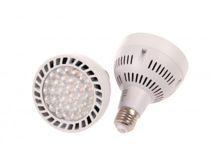 LED žárovka PAR30 45W E27 230V teplá bílá 032604 do lištového třífázového svítidla Track light 3F s paticí E27 Závit E27 Barva světla 3.000K teplá bílá Svítivost až 4.300 Lm Náhrada za 300W halogen Cena 490 Kč.  TopLux Osvětlení Praha skladem na prodejně nízká cena levně