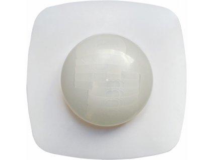 Venkovní pohybový přisazení senzor přítomnosti PIR GXSE012 Stropní venkovní čidlo s infra detekcí přítomnosti Detekční úhel je 360° a dosah až 20m Citlivost 3-2000 LUX Stupeň krytí IP65 Pro LED produkty Senzor 65 je přisazené stropní čidlo pohybu (PIR - infračervené) s detekcí přítomnosti osob, určené pro spínání svítidel a přístrojů v dlouhých úzkých chodbách, koridorech, schodištích, u výtahů nebo na toaletách. Detekční úhel je 360° a hosah až 20m. Nastavitelná je citlivost detekce světla (soumrakové čidlo), ale i doba sepnutí. Stupeň krytí je IP65 - prachotěsné a voděodolné. TopLux Osvětlení Praha, Libeň, Sokolovská - skladem na prodejně za levné ceny