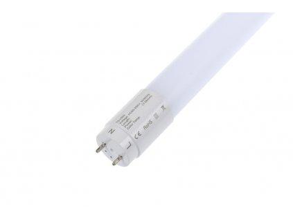 Nová verze LED trubice HBN60 8W 600mm přináší při stejném příkonu 8W mnohem více světla, konkrétně při neutrální denní barvě světla 4200K dosahuje svítivosti 1.100Lm.Délka LED trubice je60cm, patice G13 a typové označení T8 s průměrem 26mm. Tento nový typ úsporných LED trubic dokáže oproti klasickým fluorescentním zářivkám ušetřit až 70% spotřeby elektrické energie. Záruční doba pro LED trubice HBN60 8W je 3roky !!! Obsah balení : LED startér (propojku) a návod k instalaci.Skladem na prodejně TopLux Praha